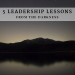 5 Leadership Lessons from the Darkness