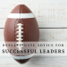Avoiding Leadership Deflate-Gate