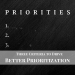 3 Criteria to Drive Better Prioritization