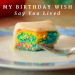 My Birthday Wish - Say You Lived